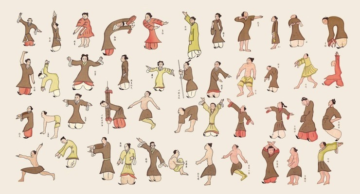 ... of women and men young and old doing various types of qigong qigong